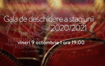 Gala de deschidere a Stagiunii 2020-2021