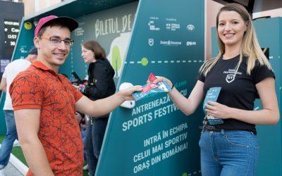 SPORTS FESTIVAL a inaugurat în Cluj prima stație sport smart de bus din țară. Primești bilet dacă faci 20 de genuflexiuni