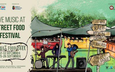 Muzică live la Street FOOD Park