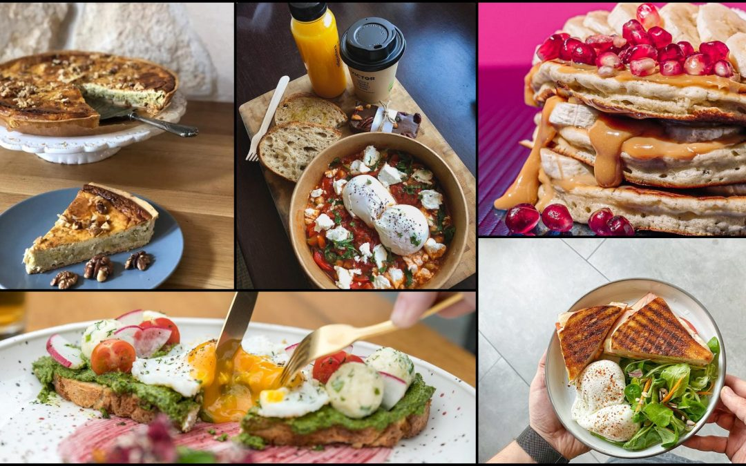 5 recomandări pentru un brunch perfect de weekend, livrat la tine acasă