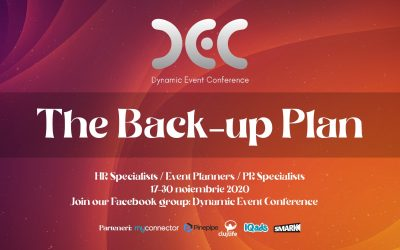 Dynamic Event Conference: The Back-up Plan