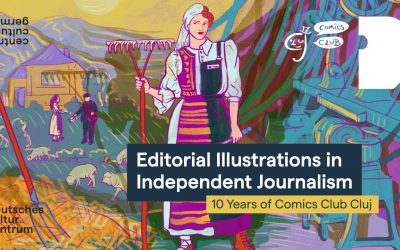 Exhibition | Editorial Illustrations in Independent Journalism | 10 Years of Comics Club Cluj