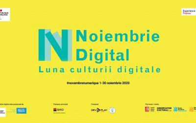 Noiembrie Digital la Cluj-Napoca