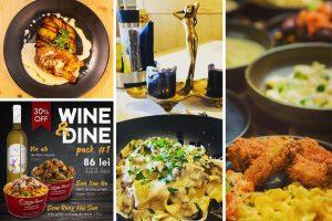 Wine & Dine. Cină în doi împreună cu un vin bun. 4 recomandări pentru home delivery