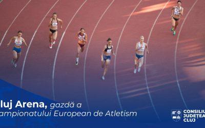 Cluj Arena va găzdui în 2021, în premieră pentru România, Campionatul European de Atletism