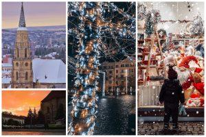 Cele mai frumoase poze din Cluj postate în luna decembrie pe Instagram