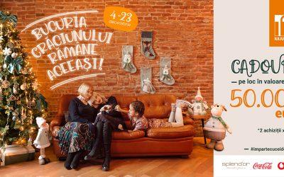 Bucuria Crăciunului rămâne aceeași! Iulius Mall Cluj ți-a pregătit mii de cadouri în valoare de 50.000 de euro