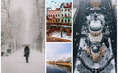 Cele mai frumoase poze din Cluj postate în luna ianuarie pe Instagram