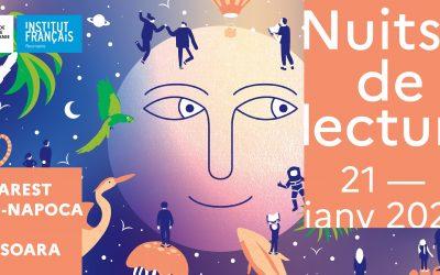 Les Nuits de la Lecture – Nopţile Lecturii