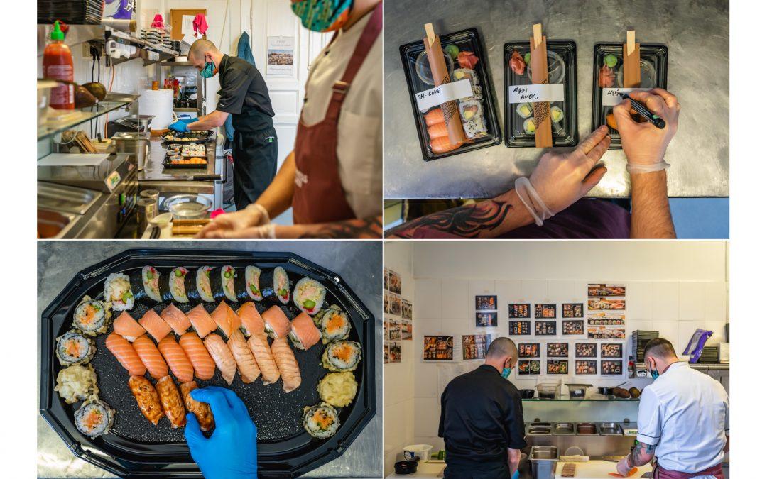 #KitchenTakeover: Am intrat în bucătăria Express Chef să vedem cum se prepară sushi