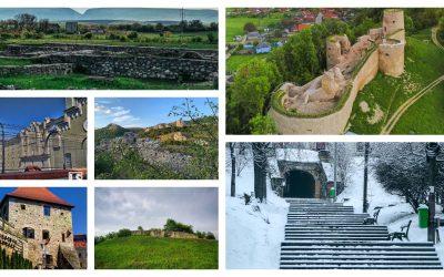 Cetățile din județul Cluj și poveștile lor