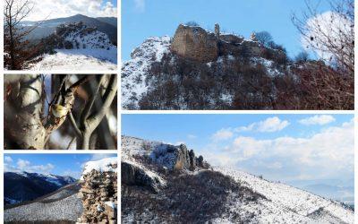 Drumeție de iarnă la Cetatea Liteni