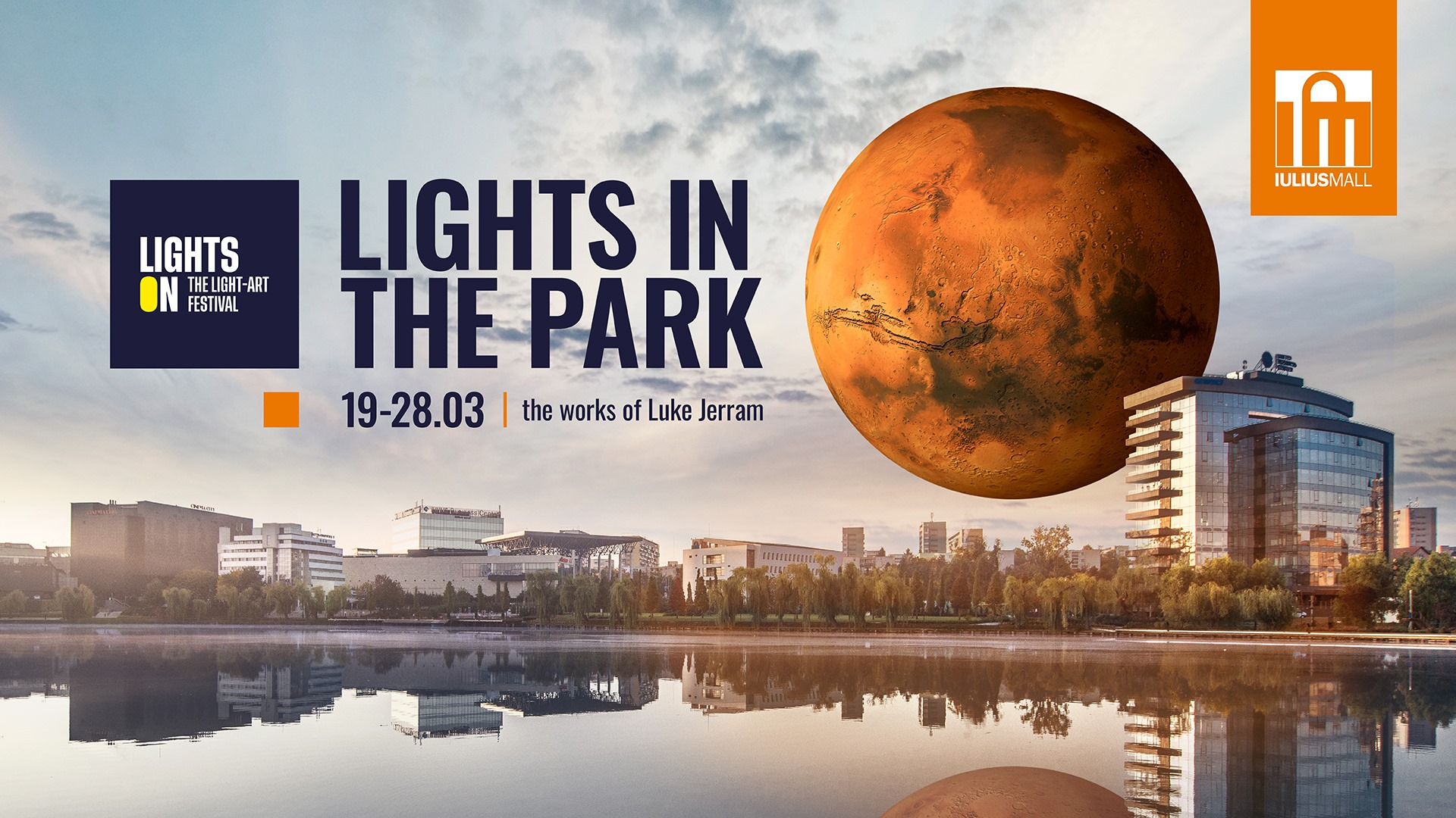 lights on in the park