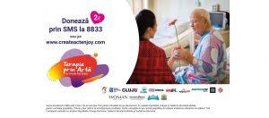 Terapie prin Artă by Create.Act.Enjoy, ediția a 9-a, în 7 spitale partenere: Cluj-Napoca, Alba și Zalău