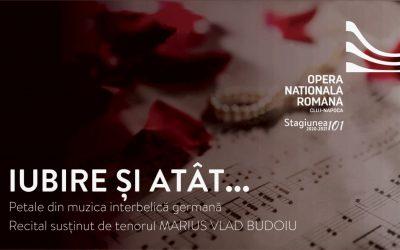 Online: Iubire și atât…Petale din muzica interbelică germană