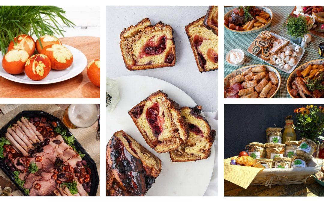 Produse locale și meniuri speciale pentru masa de Paște