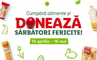 Clujenii pot dona alimente de Paște în 17 magazine Lidl