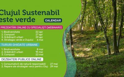 """Asociația """"Clujul Sustenabil"""" lansează un proiect  pentru încurajarea consumului responsabil de natură"""