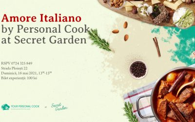 Amore Italiano by Personal Cook @ Secret Garden