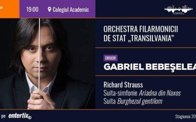 Concert simfonic – dirijor Gabriel Bebeșelea