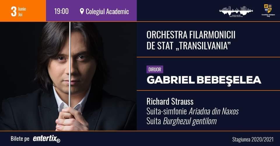 Concert simfonic - dirijor Gabriel Bebeșelea