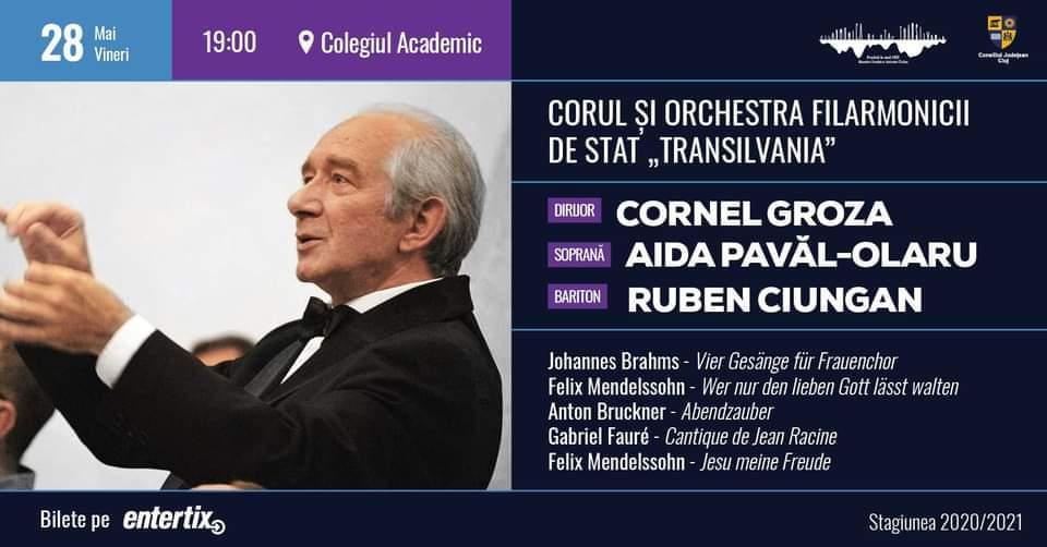 Concert vocal-simfonic - dirijor Cornel Groza