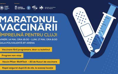 Maratonul Vaccinării – Împreună pentru Cluj!