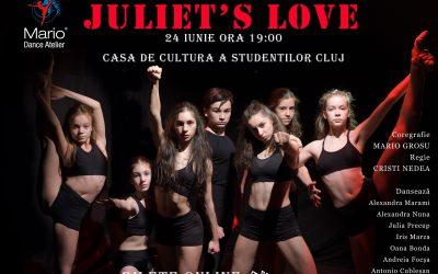 """Spectacol de dans """"Juliet's Love"""""""
