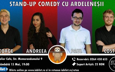 Stand-up Comedy cu Ardelenesii la Atelier