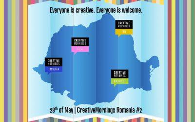 Virtual CreativeMornings Romania #2