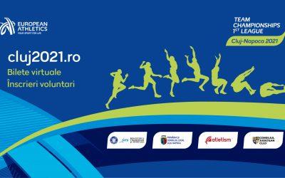 S-au pus în vânzare biletele pentru Campionatul European de Atletism pe Echipe Liga 1
