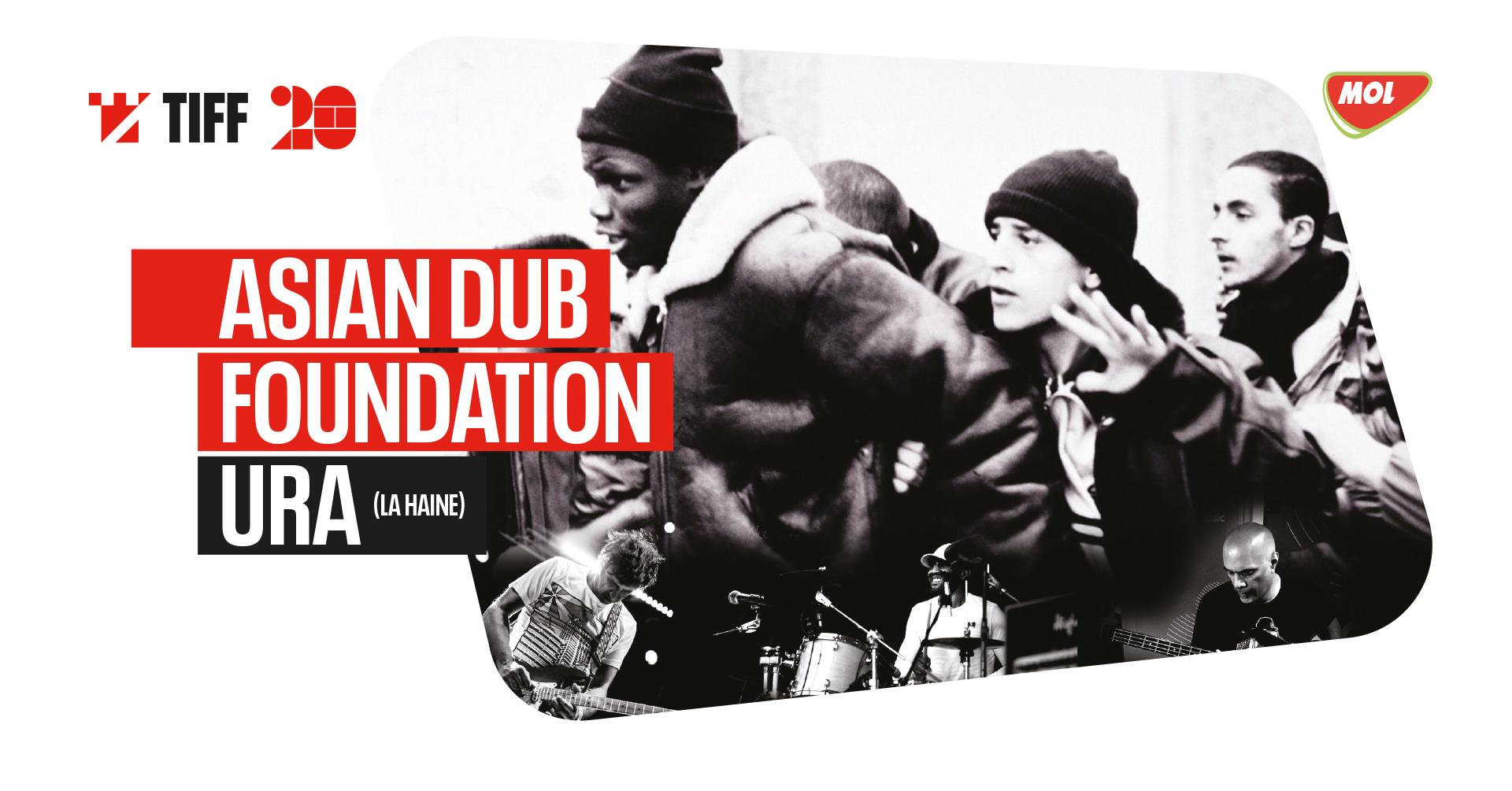 Cine-concert: Ura (La Haine) by Asian Dub Foundation (UK)   TIFF 2021