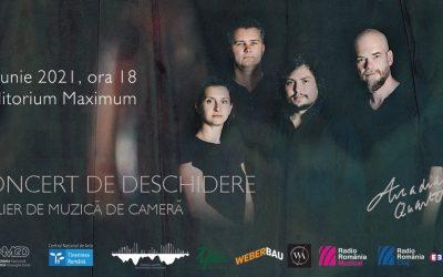Concert de deschidere Atelier de muzică de cameră – Cvartetul Arcadia