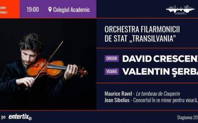 Concert simfonic – dirijor David Crescenzi