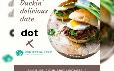 Duckin' delicious date. DOT x Personal Cook