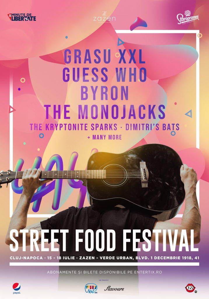 Street FOOD Festival revine in Cluj-Napoca