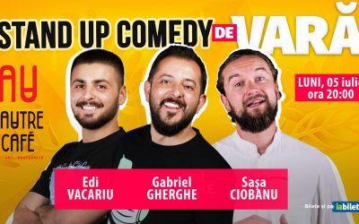 Stand Up Comedy de Vară   Gabriel Gherghe, Edi Vacariu & Sașa Ciobanu