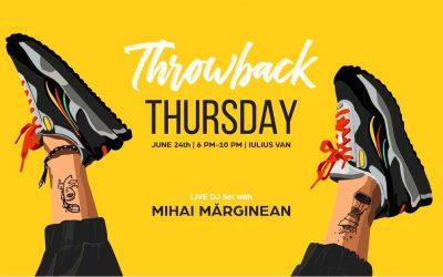 Throwback Thursday Party at Meron Iulius Van