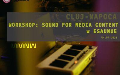 Workshop: Sound for media content w EsauNue (CLUJ)