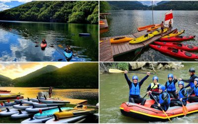 Activități pe apă aproape de Cluj: caiac, stand up paddle, rafting