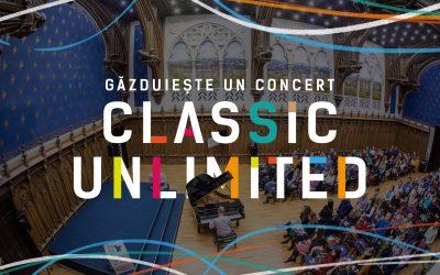 Se caută spații pentru concertele Classic Unlimited 2021