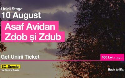 Asaf Avidan / Zdob și Zdub @ EC_Special