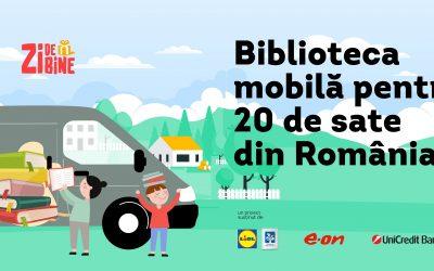 BookTruck, biblioteca mobilă care va împrumuta gratuit cărți în satele fără bibliotecă funcțională