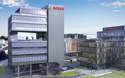 Bosch dă startul construcției celei de-a doua clădiri de birouri pentru Centrul de Inginerie din Cluj