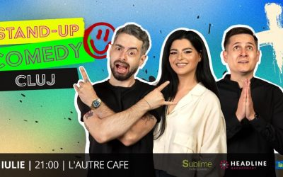 Cluj Napoca: Stand-up Comedy cu State, Tănase și Bucălae