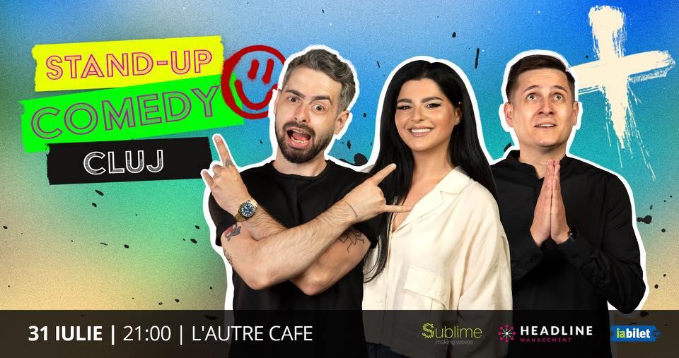 Cluj Napoca Stand-up Comedy cu State, Tănase și Bucălae