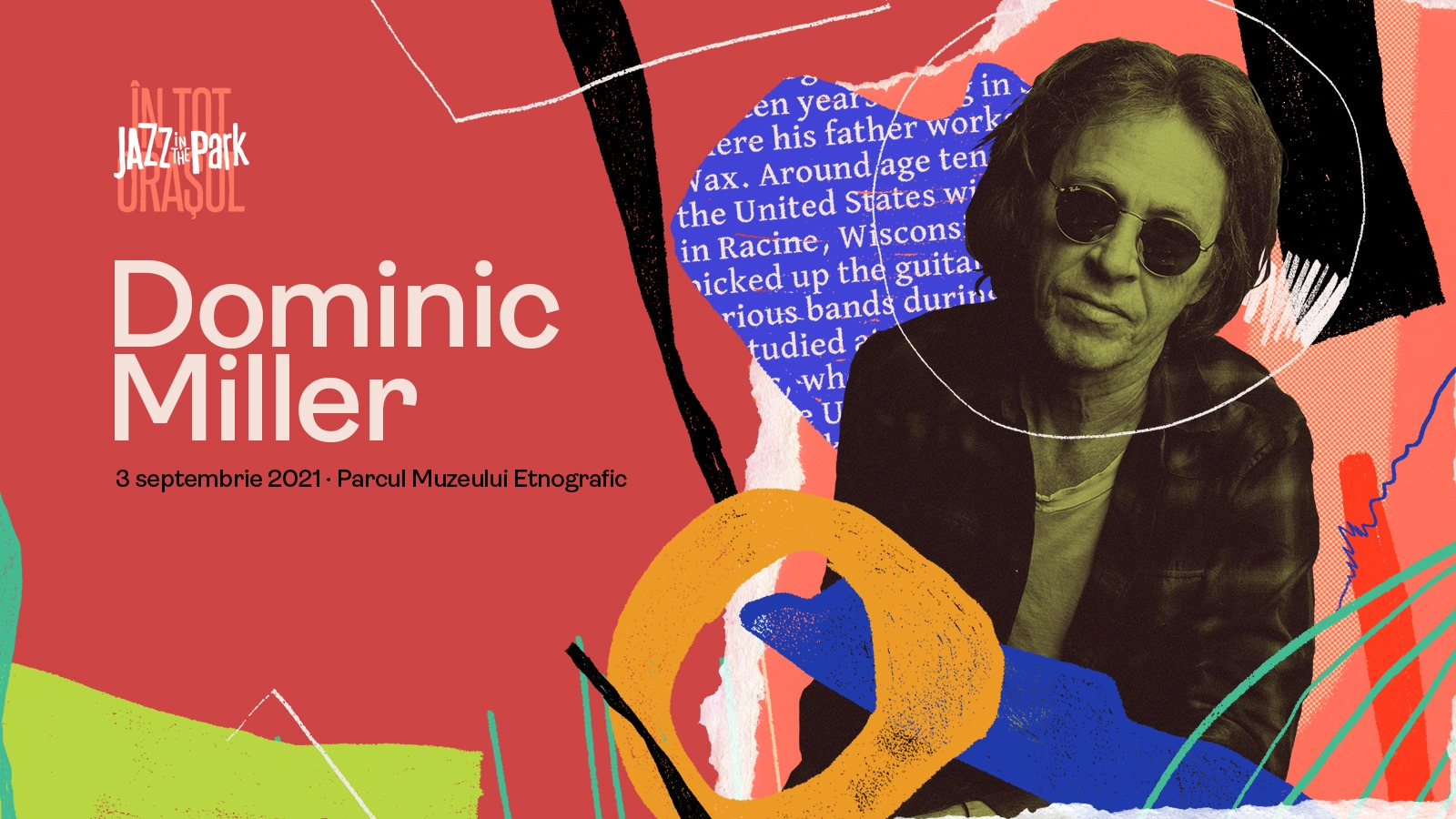 Dominic Miller @ Jazz in the Park 2021