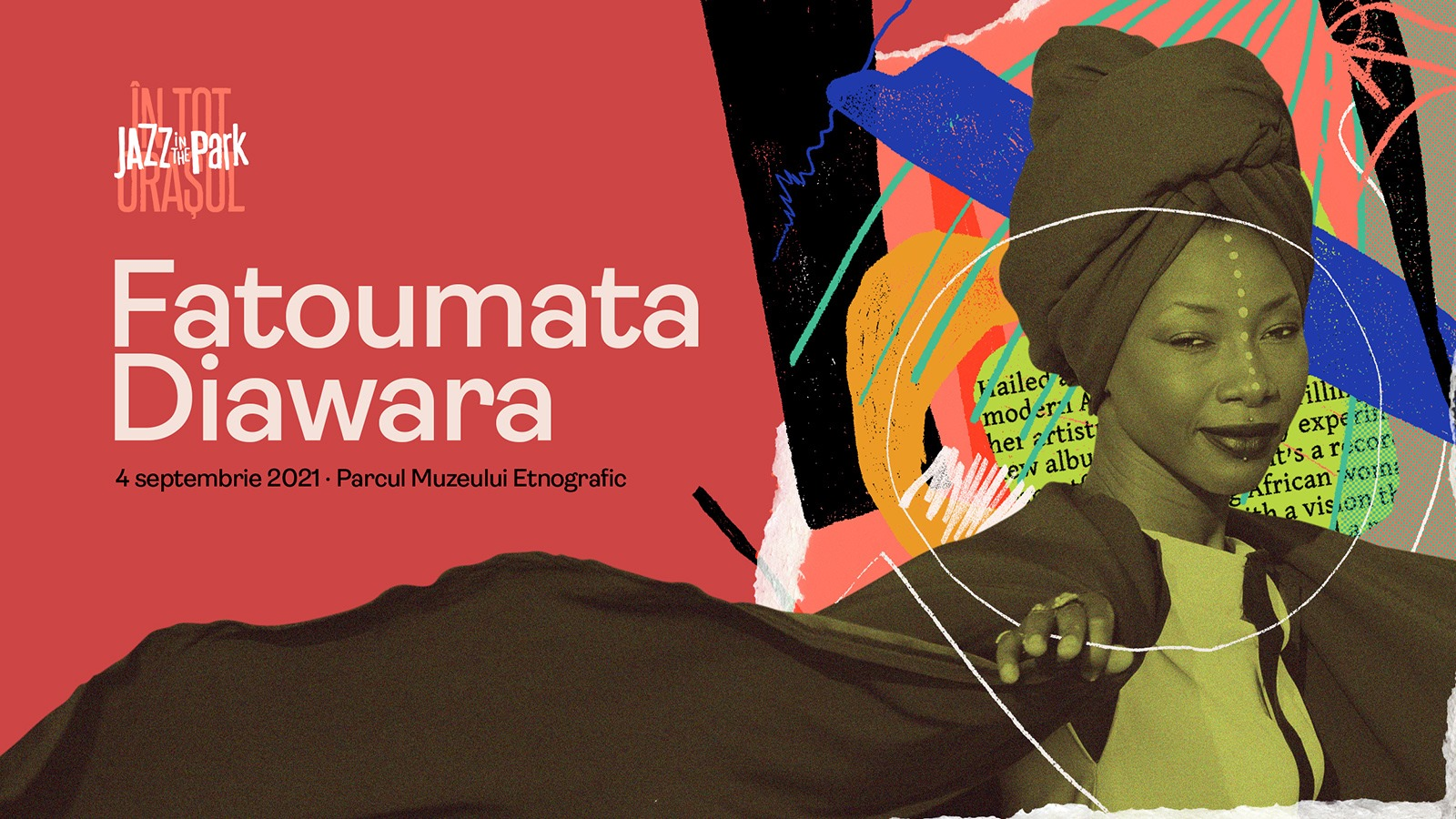Fatoumata Diawara @Jazz in the Park 2021