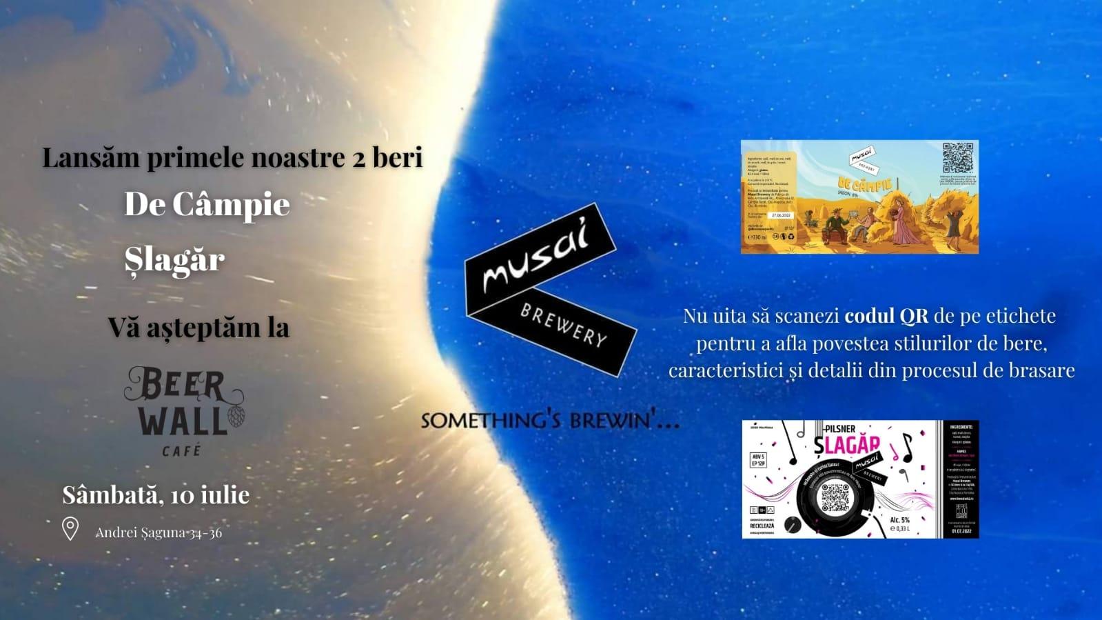 MUSAI Brewery - Lansare De Câmpie si Șlagăr