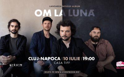 OM LA LUNĂ ▼ LANSAREA NOULUI ALBUM   Cluj – Casa TIFF